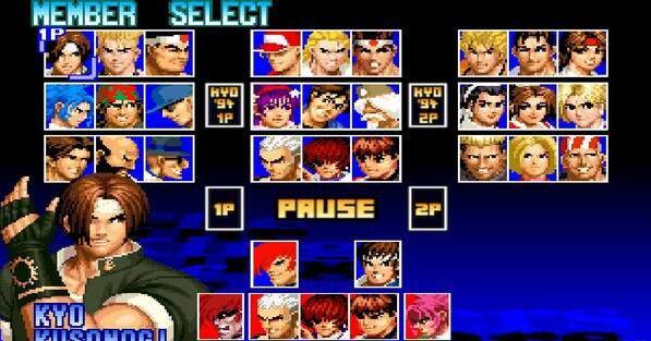 拳皇97Combo连击版图2