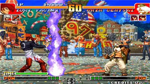 拳皇97大蛇无限变态版图2