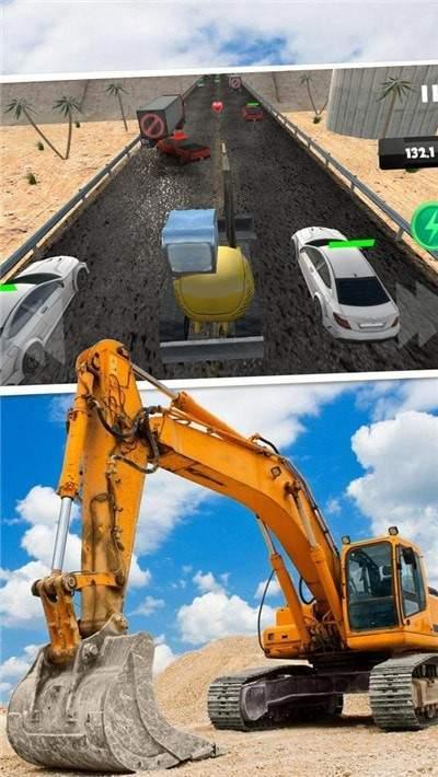模拟挖掘机驾驶图2