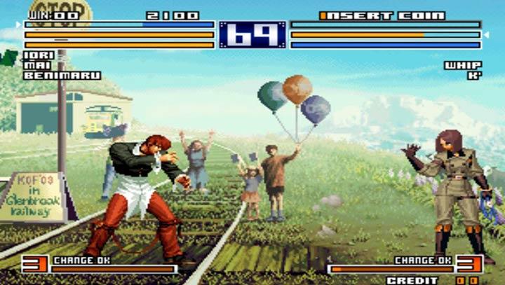 拳皇2004ex风云加强版图1