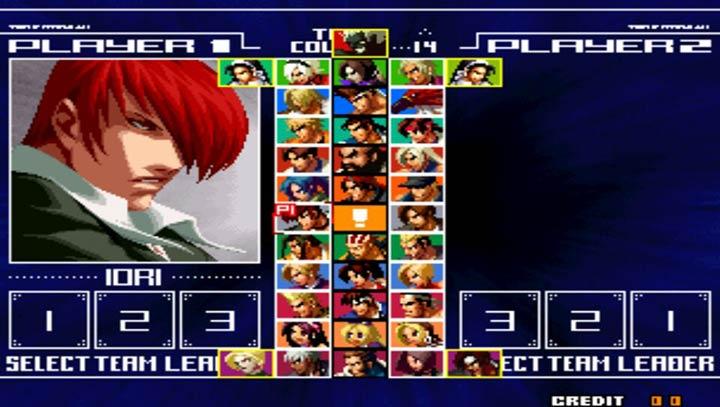 拳皇2004ex风云加强版图2