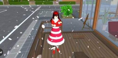 樱花校园模拟器圣诞节版图2