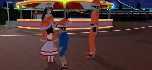 樱花校园模拟器圣诞节版图4