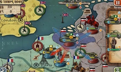 欧陆战争3破解版图3