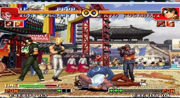 拳皇97大蛇破解版圖3