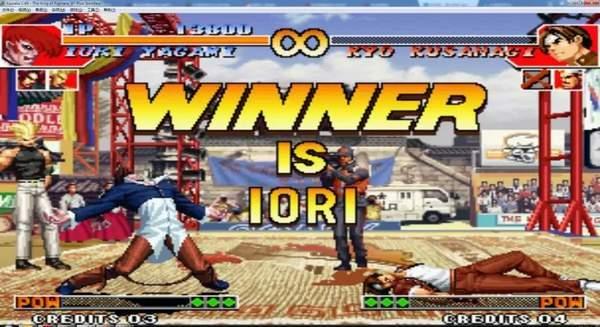 拳皇97大蛇破解版圖1