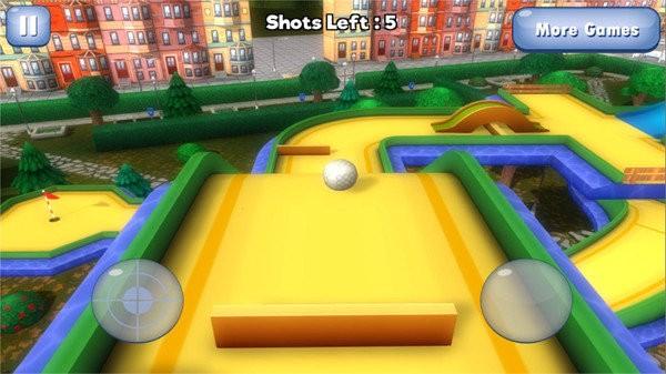 高爾夫3D星城圖2