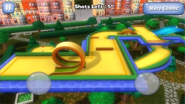 高爾夫3D星城圖1
