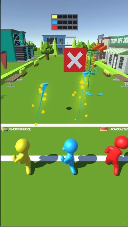盤式高爾夫3D圖2