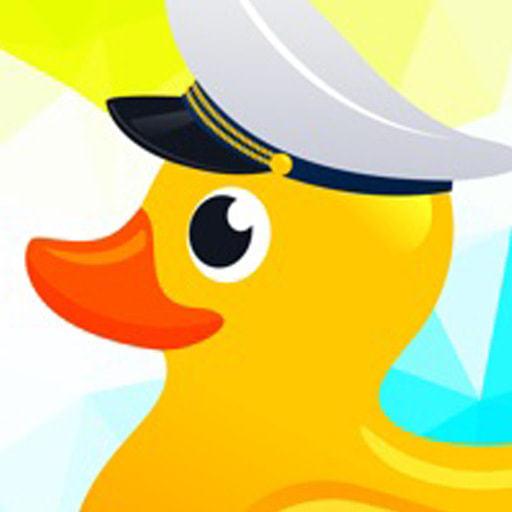 愛洗澡的鴨子