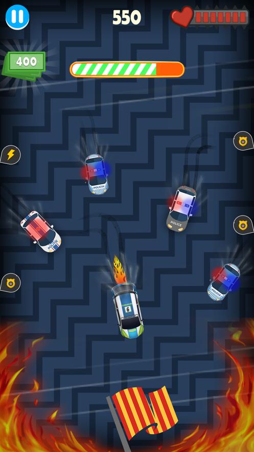 警车警察追逐图1