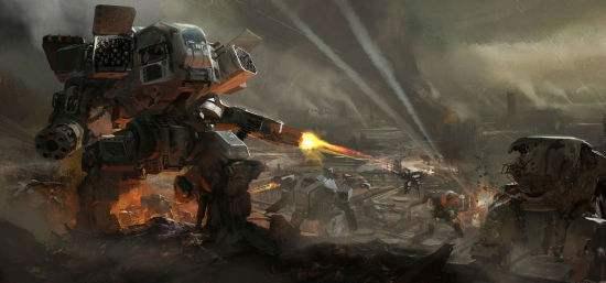 大型机甲战斗类游戏