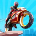 机器人自行车比赛游戏