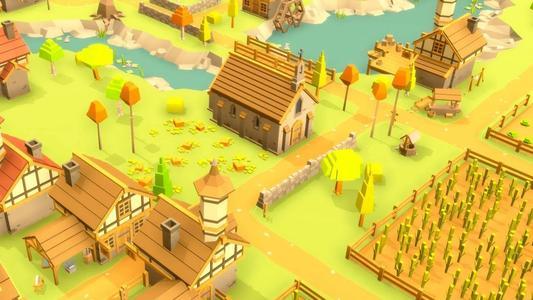 村庄建造类的手机游戏