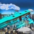 城市飞行巴士模拟器