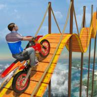 自行車越野游戲