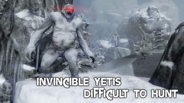 雪人怪物森林狩猎图3