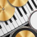 模拟钢琴架子鼓