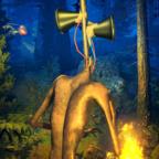 森林警笛头生存游戏