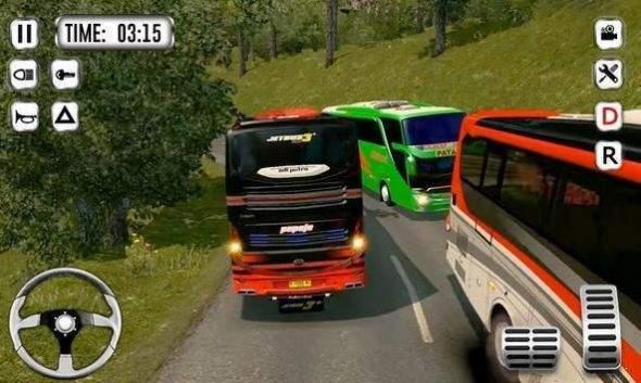 爬坡公交车模拟器