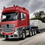 卡车模拟交通行驶