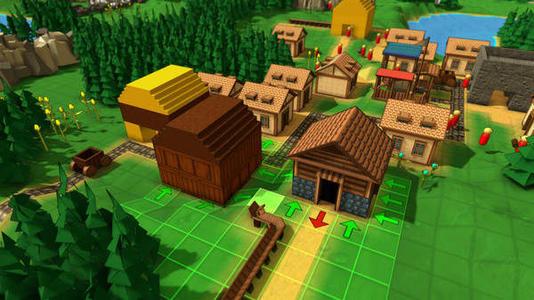 自己建村落的游戏