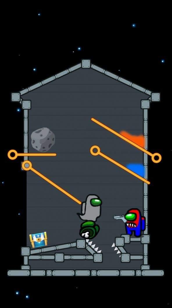 太空拉针解谜图1
