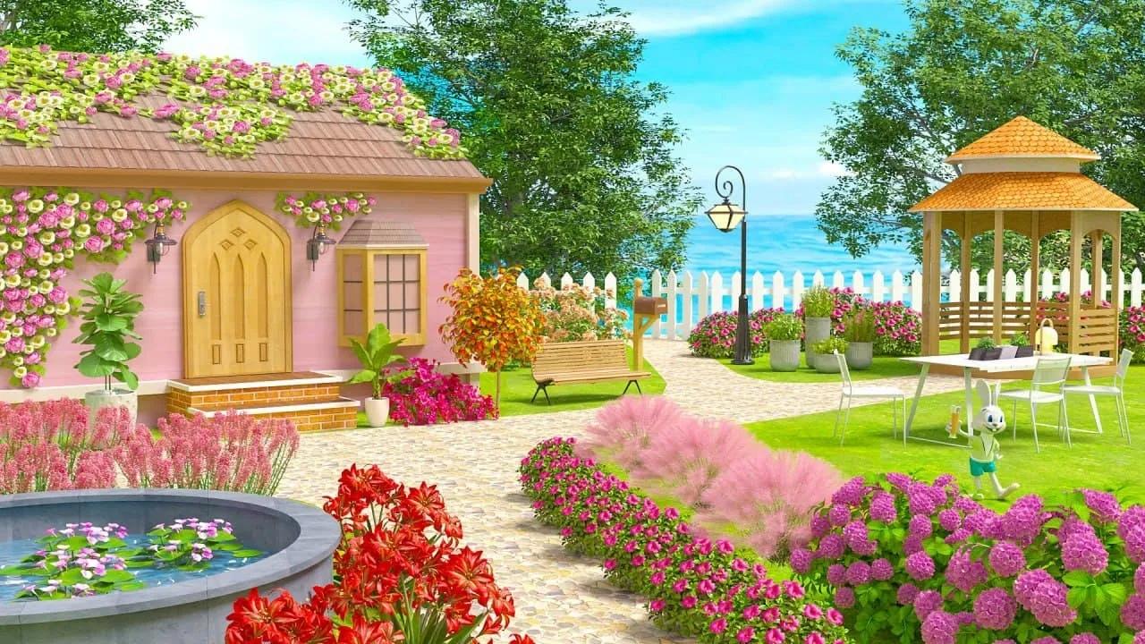 粉红花园改造游戏图3