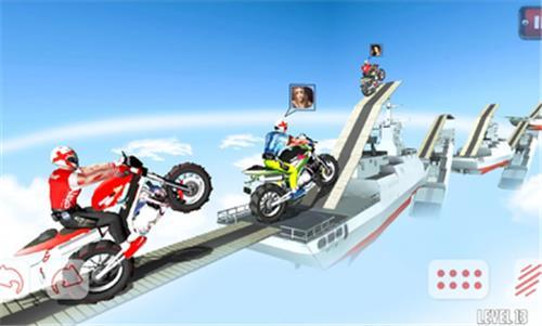 越野摩托屋顶赛图1