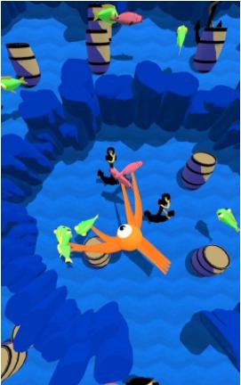 鱿鱼吃小鱼图1