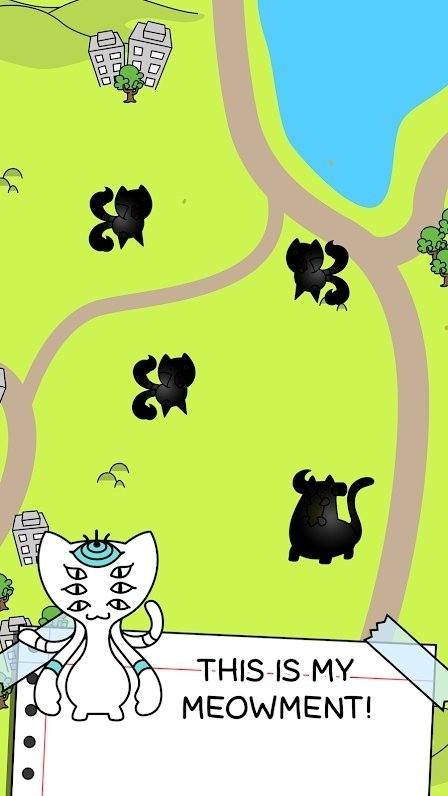 猫咪进化疯狂合并图1
