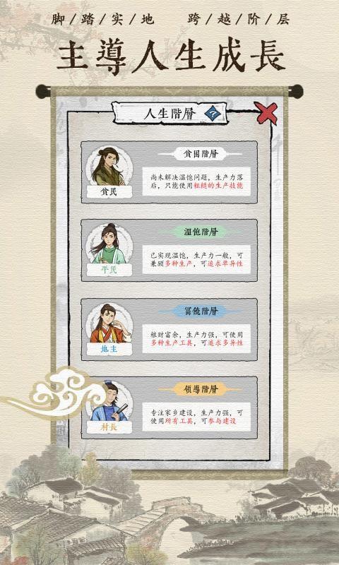 古代乡村人生图3