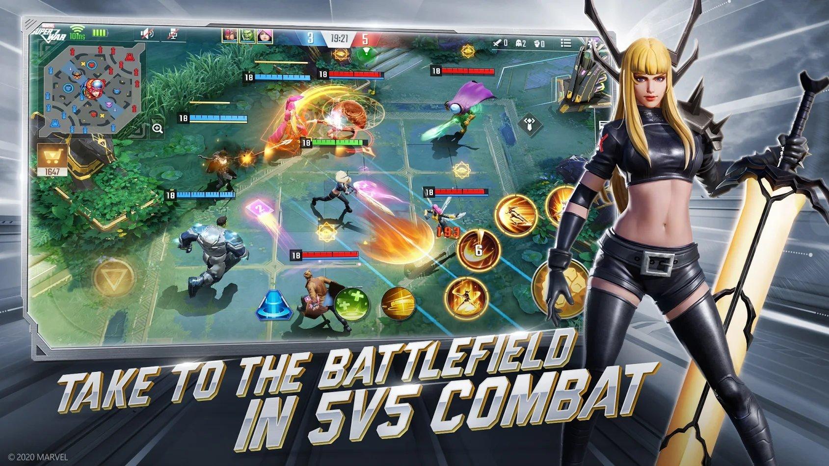 漫威超级战争国际版图5