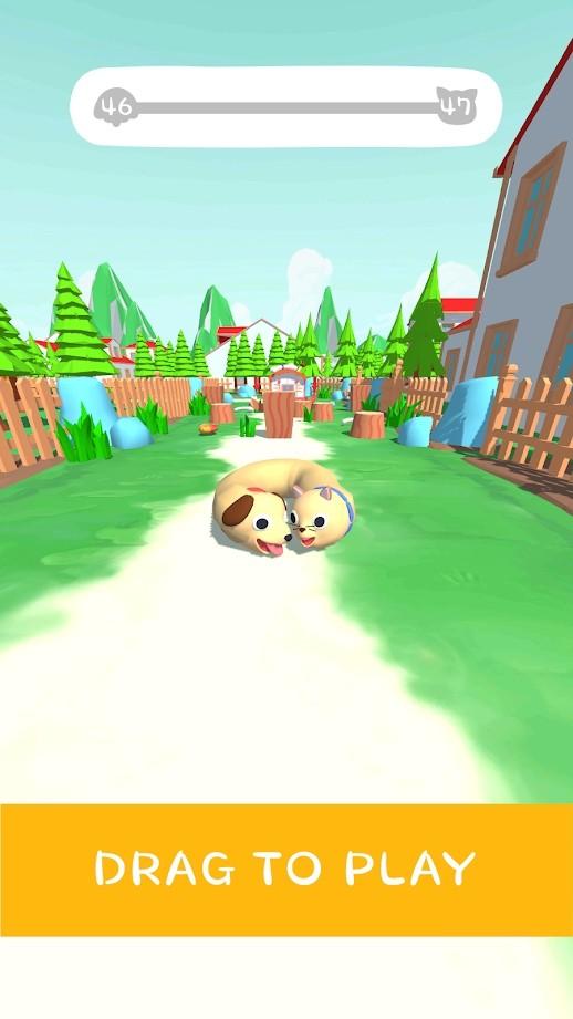 猫和狗3D游戏图2