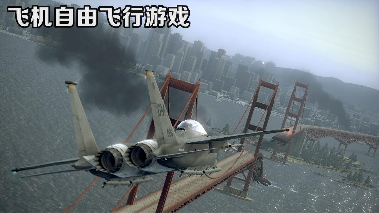 飞机自由飞行游戏
