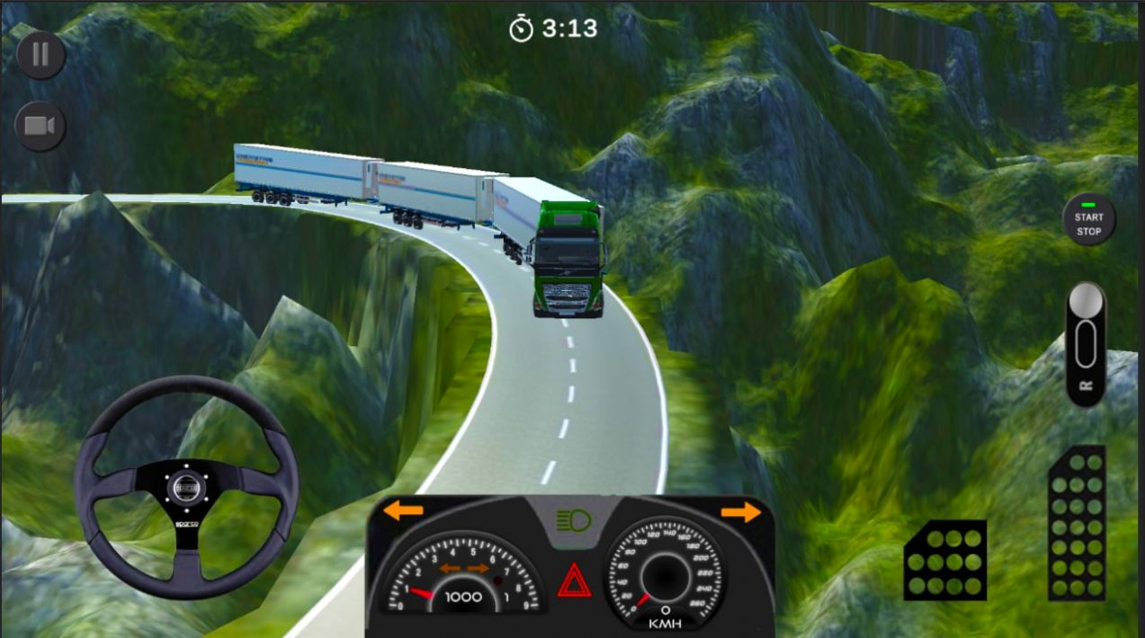 世界卡车模拟器2危险道路