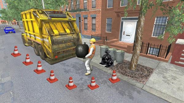 垃圾车司机图2